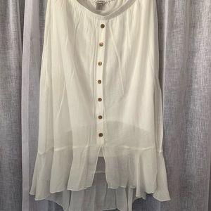 Dresses & Skirts - Bohemian Asymmetrical Sheer Skirt